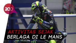 Valentino Rossi Positif Corona, Yamaha Jelaskan Kronologinya