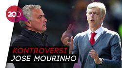 Tak Disebut di Buku Wenger, Mourinho: Dia Tak Pernah Mengalahkanku