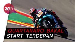 Quartararo Tercepat di Kualifikasi MotoGP Aragon