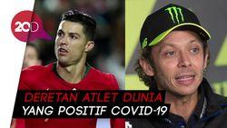 Rossi hingga Ronaldo, Atlet Dunia yang Terpaksa Jeda karena Corona