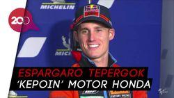 Momen Marquez Larang Espargaro Bocorkan Rahasia Motor Honda
