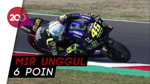 Joan Mir Gusur Quartararo dari Puncak Klasemen MotoGP 2020