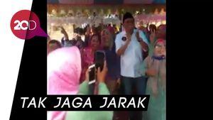 Cabup Barru Suardi Saleh Joget Tak Pakai Masker dan Berkerumun