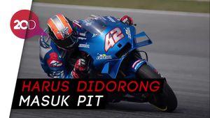 Motor Alex Rins Malah Mogok Usai Juara MotoGP Aragon