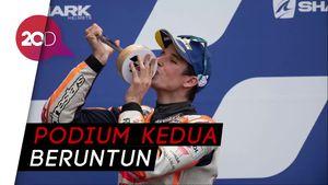 Alex Marquez Back to Back Podium MotoGP 2020