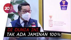 Ridwan Kamil: Vaksin Corona Efektif, Tapi Tak Ada Jaminan 100 Persen