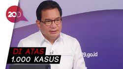 12 Kabupaten/Kota Sumbang Kasus Aktif Corona Terbanyak di RI