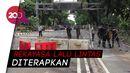 Jalur Merdeka Barat Ditutup, Antisipasi Demo Buruh Tolak Omnibus Law