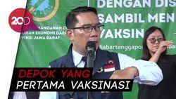 Ridwan Kamil soal Vaksin Corona: Warga Depok Kami Prioritaskan