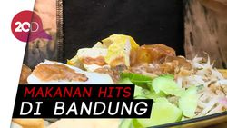 Bikin Laper: Jajal Mie Kocok Bakso dan Lotek Cihapit Bandung
