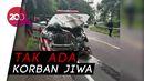 Usai Antar Pasien Covid-19, Ambulans Terlibat Kecelakaan di Mamuju