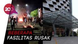 Demo di Makassar Ricuh, Kampus UNM Jadi Korban