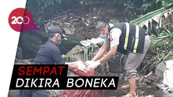 Miris! Mayat Bayi Ditemukan Pemulung di Sungai Bogor