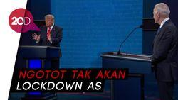 Trump: Kita Tak Bisa Lockdown Seperti Biden yang Banyak Uang