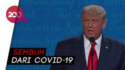 Di Depan Biden, Trump Pamer Kebal Covid-19