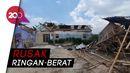 Kondisi Ratusan Rumah di Bekasi yang Rusak Akibat Puting Beliung