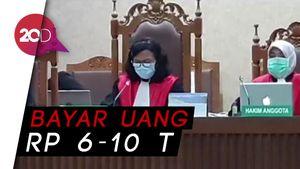Benny Tjokro-Heru Hidayat Divonis Penjara Seumur Hidup