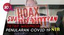 Satgas Covid-19 Klarifikasi Video Viral Aliansi Dokter Dunia