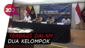 Polisi Tahan 67 Pelaku Kericuhan Demo UU Cipta Kerja