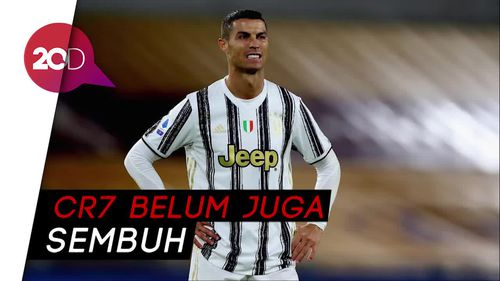 Cristiano Ronaldo Masih Positif Covid-19