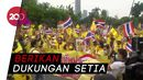 Giliran Loyalis Kerajaan Berunjuk Rasa di Thailand