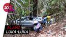 Mobil Wisatawan Masuk Jurang di Lembang, Penumpang Selamat