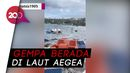 Detik-detik Tsunami Terjang Turki Usai Gempa M 7