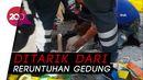 Tegang! Evakuasi Korban Gempa M 7 Turki dari Reruntuhan