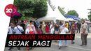 Suasana Taman Sari Yogyakarta Ramai Wisatawan Saat Long Weekend
