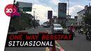 One Way Arah Jakarta dari Puncak, Simpang Gadog Lancar