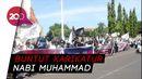 Turun ke Jalan, Umat Islam di Makassar Kecam Emmanuel Macron