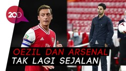 Oezil, Arteta, End