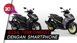 All New Aerox 155, Matic Anyar Yamaha Ber-DNA Supersport