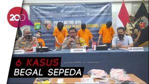 Polisi Ciduk 10 Pelaku Begal Sepeda yang Beroperasi di Jakarta