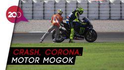 Comeback Rossi Tak Berbuah Manis