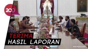 Presiden Jokowi Terima IHPS dan LPH dari BPK RI