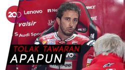 Fix! Andrea Dovizioso Absen di MotoGP 2021