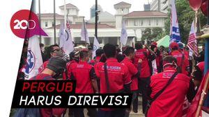 Buruh Demo Anies, Minta UMP 2021 Naik Tanpa Pengecualian