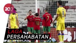 Portugal Menggila! Cukur Andorra 7 Gol Tanpa Balas