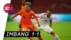Belanda Vs Spanyol Berakhir Tanpa Pemenang