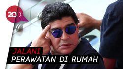 Seminggu Usai Operasi Otak, Maradona Keluar dari Rumah Sakit