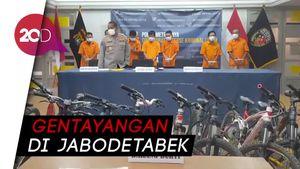 7 Pencuri Sepeda yang Aksinya Kerap Viral dan Penadah Dibekuk!