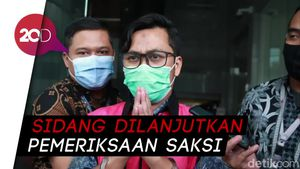 Eksepsi Andi Irfan Ditolak, Sidang Kasus Suap Urus Fatwa MA Dilanjutkan