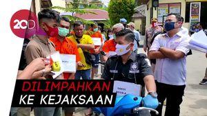 Berkas ABG Anggota Klub Moge Pengeroyok TNI Dinyatakan Lengkap