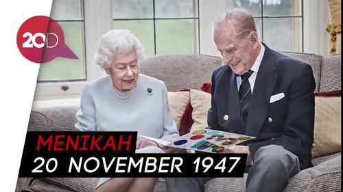 Ratu Elizabeth dan Pangeran Philip Rayakan Ultah Pernikahan ke-73