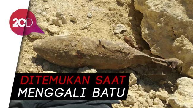 Bom Aktif Peninggalan Perang DUnia Gegerkan Warga Kendari