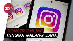 Pengguna Instagram Meningkat Selama Pandemi Corona