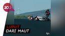 Momen Rider Moto2 Aron Canet Nyaris Ketabrak 6 Motor