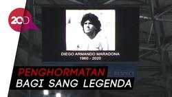 Sepakbola Eropa Mengheningkan Cipta Untuk Diego Maradona