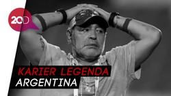 Perjalanan Sang Tangan Tuhan Diego Maradona